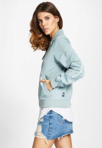 Basic Khujo Donna Camicia Lunghe Giacca Blau Maniche pxva6EF