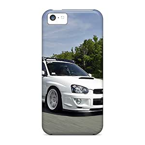 Fashionable Style Case Cover Skin For Iphone 5c- White Sti 2