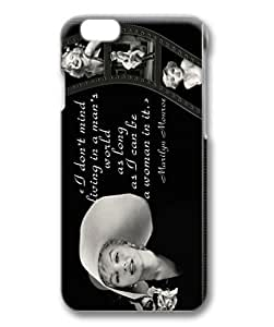 customized and diy marilyn monroe quotes for iphone 6 3D for office by bandgoshop