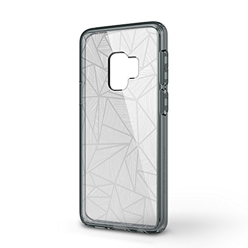 Samsung Galaxy S9 case, SMASS Secret Shine Slim Clear bumper Shock-Absorption Cover Ultra Drop Protection Anti Scratch Clear Back for Galaxy S9 - GRAY & CROSS by @hand (Image #2)