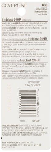 COVERGIRL Lineblast 24 Hour Eyeliner, Enduring Black, 0.02 Ounce
