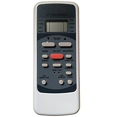 Replacement for Frigidaire Air Conditioner Remote Control Model Number: R51M/CE