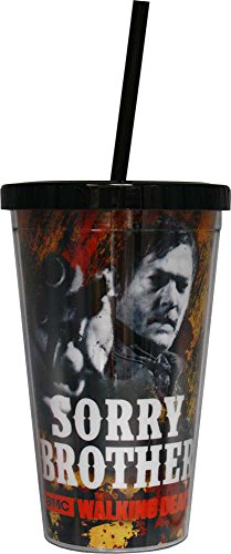 1 X The Walking Dead Daryl Dixon Sorry Brother Carnival Cup