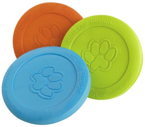 Zisc Flying Disc Dog Toy: Tangerine