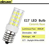 DiCUNO E17 LED Bulb, Microwave Oven, Stovetop