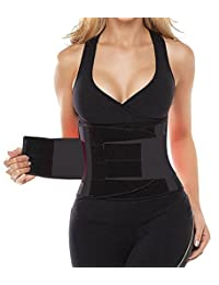 Camellias Women's Waist Trainer Belt - Body Shaper Belt For An Hourglass Shaper