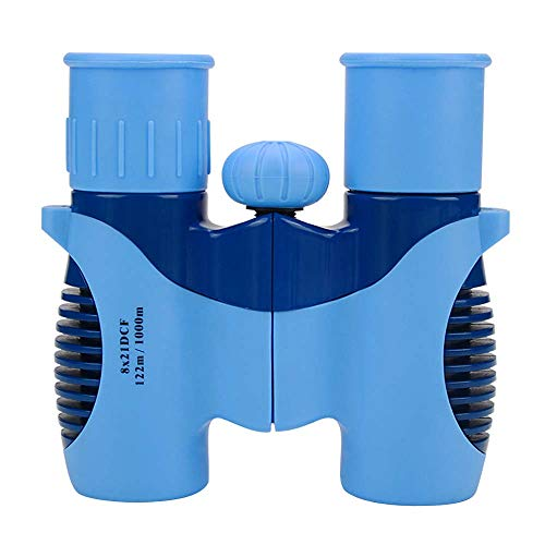Kids Binoculars 8x21Binoculars Kids Toy Binoculars Boy/Girls Mini Lightweight Children Binoculars Folding Binoculars Outdoor Birthday Blue