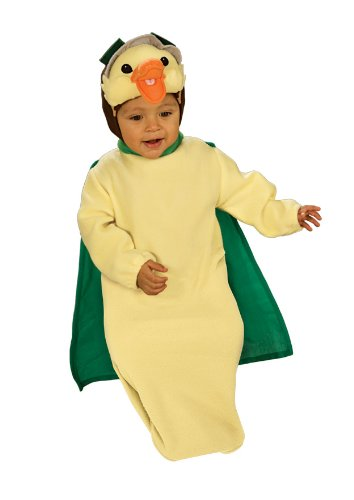 Wonder Pets Bunting And Headpiece Costume Ming-Ming Duckling, 0-9 (Wonder Pet Halloween Costumes Toddlers)