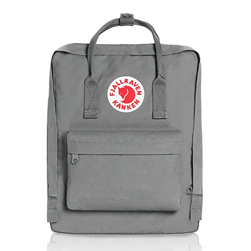 Fjallraven - Kanken Classic Pack, Heritage and Responsibility Since 1960, One Size,Fog