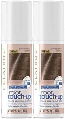 Clairol, Root Touch Up Spray, Special Value Twin Pack, Medium Brown, 2 Pack