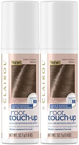 Clairol, Root Touch Up Spray, Medium Brown, 1.8 Ounce, Pack of 2