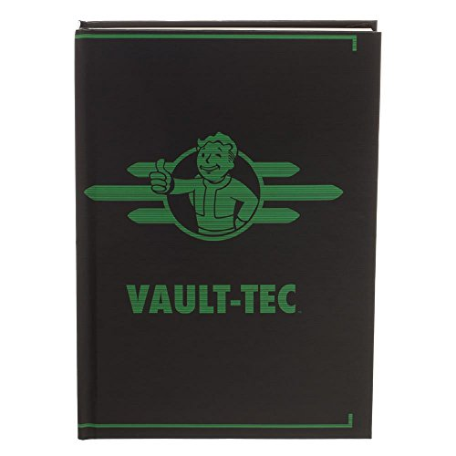 Fallout Vault-Tec Journal Gift for Gamers - Fallout Accessories Stationary Fallout Gift - Gaming Stationary (Fallout New Vegas Ultimate Edition Walkthrough Xbox 360)