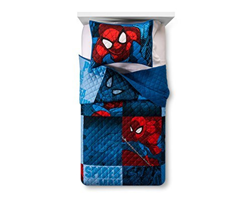 Marvel Spider-Man Blue & Red Quilt Sets (Twin/Full)