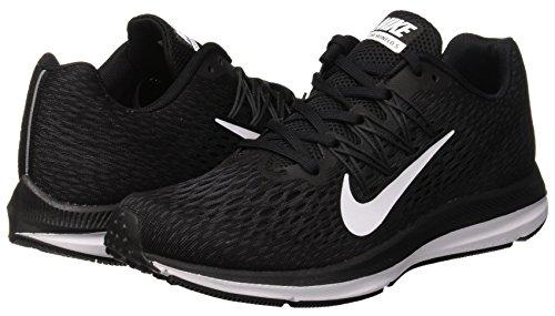 Para De 5 Mujer Nike Negro Running Winflo Zapatillas Zoom HqRnHvIWY