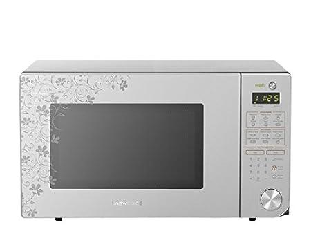 Daewoo KOR-1N3HSA Encimera 31.1L 1500W Plata - Microondas ...