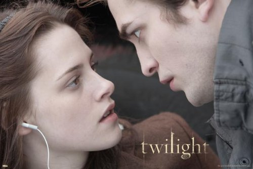twilight bella edward 2 poster