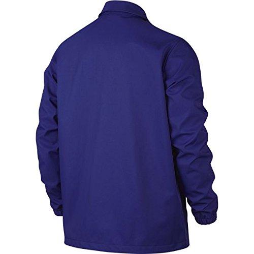 NIKE Mens AJ 11 Jacket 819119-482_S - Concord/White