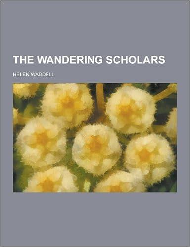 Book The Wandering Scholars