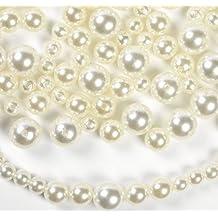 Bulk Plastic Faux Pearl Craft Beads