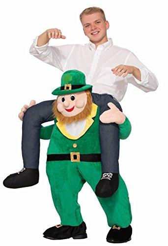 Forum Novelties Men's Once Upon A Leprechaun Costume, Green, Standard - Leprechaun Costume Shoulders