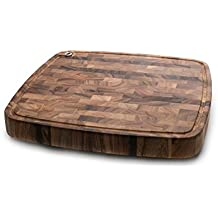 Ironwood Gourmet 28104 Carolina Chopping Board, Acacia Wood