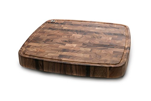 Ironwood Gourmet 28104 Carolina Chopping Board, Acacia Wood - Butcher Block Restaurant