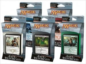 tiempo libre Magic The The The Gathering Fate Reforged Set of 5 Intro Decks by Magic  the Gathering  compra limitada