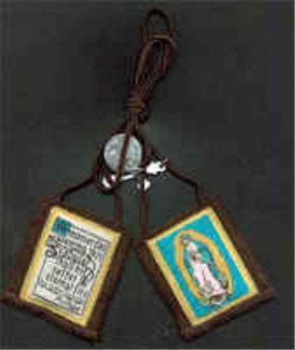 Our Lady of Guadalupe Scapular - Regular Cord (1212)