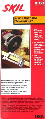 SKIL Router Hinge Butt Template Set Model 91804 by Skil