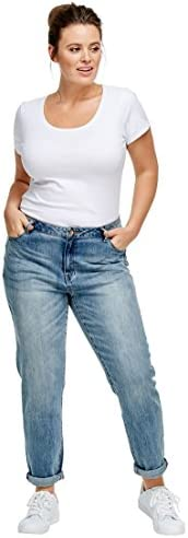 Ellos Plus tamaño de la mujer Boyfriend Jeans