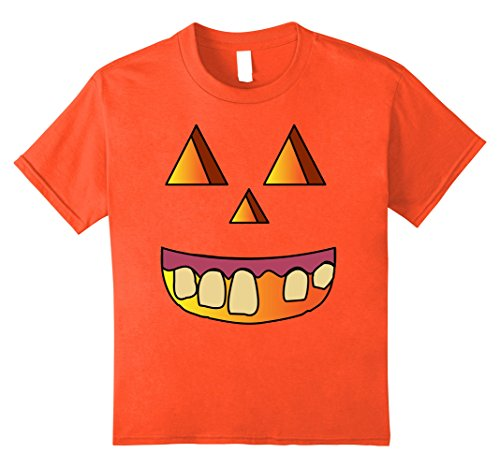 Kids Jack O Lantern Pumpkin Halloween Costume Hillbilly T Shirt 8 Orange (Hillbilly Halloween Costume Ideas)