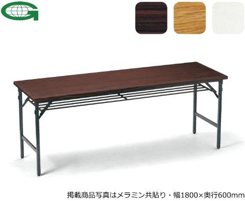 折りたたみテーブル(幅150×奥行60cm)(共貼り)(ワイド脚)(TW-1560)(CHK(M7)) B003ZK037M CHK(M7) CHK(M7)