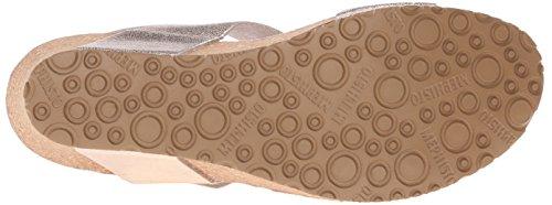 Vernis Dress Mephisto Lissandra Women's Platinum Platform Sandal ZTZBUwqYx