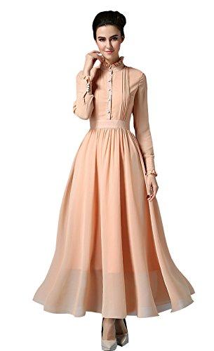 Stylishelf Womens Vintage Turtleneck Pleated product image