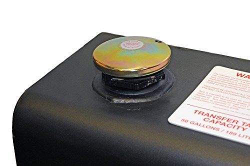 Dee Zee DZ91740SB (50 gallon) Black Steel Combo Transfer Tank & Tool Box by Dee Zee (Image #1)