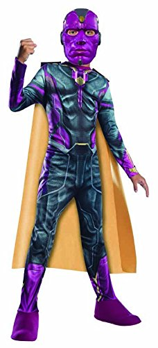 Vision Marvel Costume (Rubie's Costume Avengers 2 Age of Ultron Child's Vision Costume,)