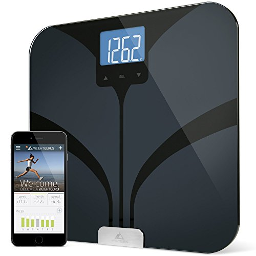 Bluetooth Connected Smart Body Weight Scale by Weight Gurus