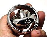 Mechforce EDC Gyroscope Gen2, Stainless Steel, Hand Fidget, Stress Relief, Focus Desk Toy