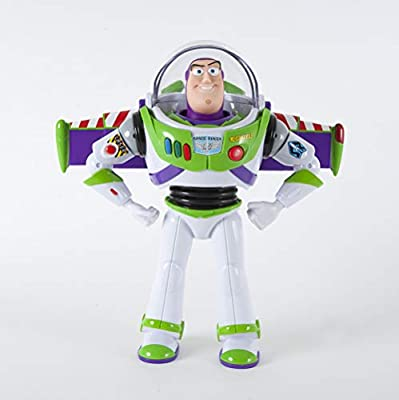 """NEW Disney Story Talking Buzz Lightyear 12/""""  Toy Story Action figure 30 phrases"""