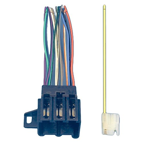 Eckler's Premier Quality Products 25-104440 Corvette Radio Wiring Harness & Connector, 1977Late-