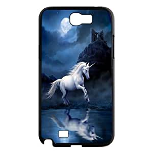 Pegasus & unicorn Pattern Hard Shell Phone Case For For Samsung Galaxy Note 2 Case FKGZ493094