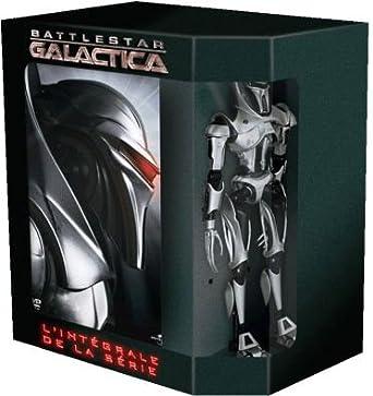 Battlestar Galactica, Saison 1 à 4 + Figurine - Coffret 26 DVD ...