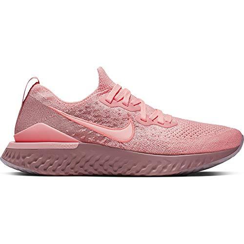 (Nike Epic React Flyknit 2 Women's Running Shoe Pink Tint/Pink Tint-Rust Pink 7.0)