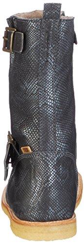 Bisgaard TEX boot 60502216, Mädchen Schneestiefel Schwarz (212 Snake-black)