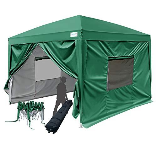 Quictent 8x8 ft EZ Pop Up Canopy Tent Instant Folding Party