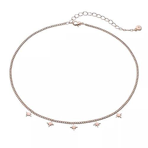 LC Lauren Conrad Runway Collection Starburst Charm Choker (Lauren Conrad Jewelry)