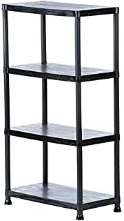 d2e7252699c Amazon.com  5-Shelf Steel Boltless Shelving Unit with Low Profile ...