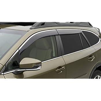 OEM 2020 Subaru Outback Side Window Visors Air Deflector Wind Guards F001SAN000