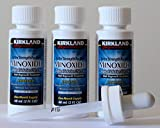 Minoxidil-5% Extra Strength Hair Regrowth for Men, 3 Count, 2 Ounce Bottles
