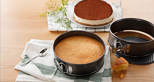MiHerom Non-stick Springform Pan/Cheesecake Baking Pan with Removal Bottom,including Icing Piping Set,10 inch,14 Cup Capacity by MiHerom (Image #7)